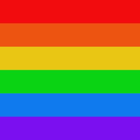 Flag of the LGBT community. Designation of national minorities. Background. Illustration.