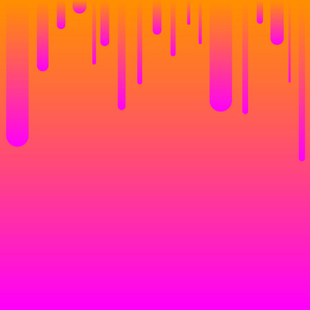 Abstract geometric background. Parallel pink-orange  lines on top.Colorful stripes. Copy space. Illustration. Imagens