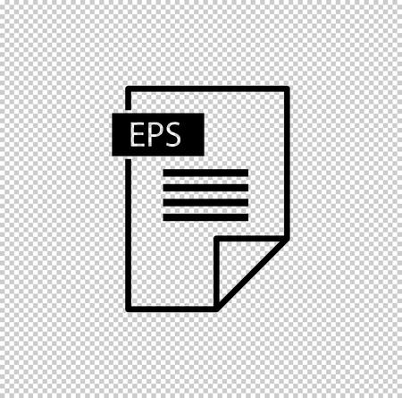 eps - black vector icon