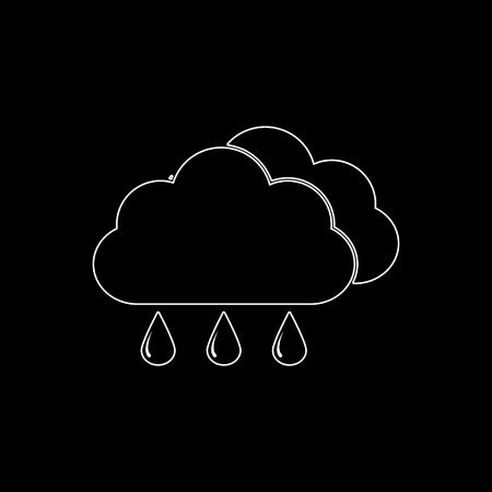 weather icon   white vector icon