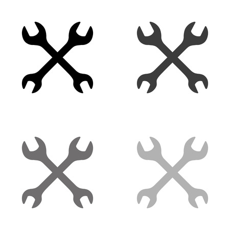 Repair - black vector icon