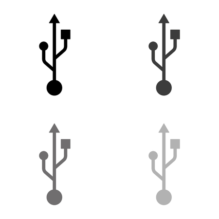 usb icon Ilustração
