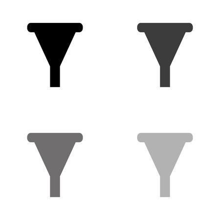 watering can - black vector icon