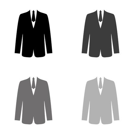 suit icon 矢量图像