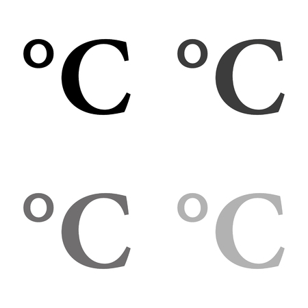 degrees Celsius icon