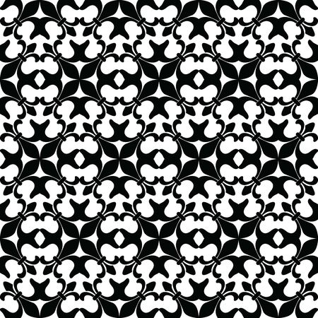 Seamless wallpaper pattern. fabric texture, background floral vector