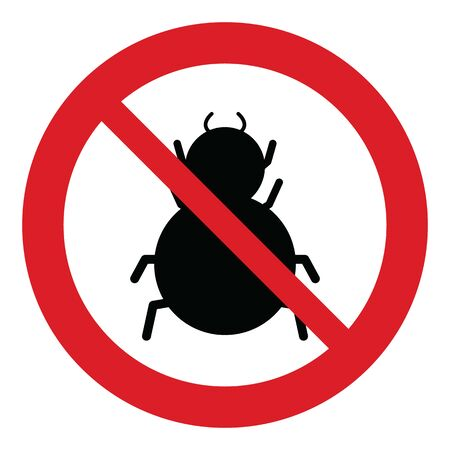 no spider icon Prohibited spider icon.