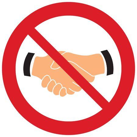 No handshake vector. Not allow handshake