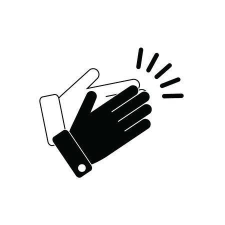 applause icon - vector symbol Ilustración de vector