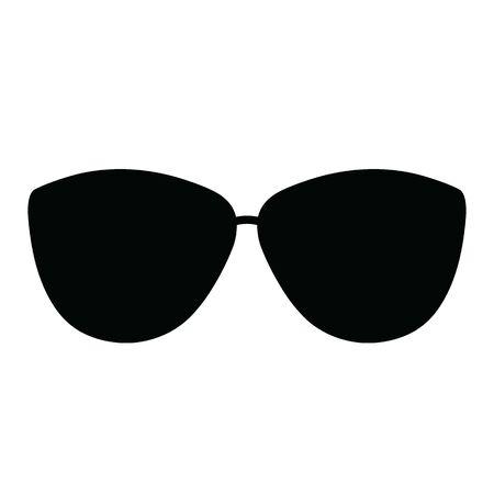 glasses vector icon. sun glasses sign Vecteurs