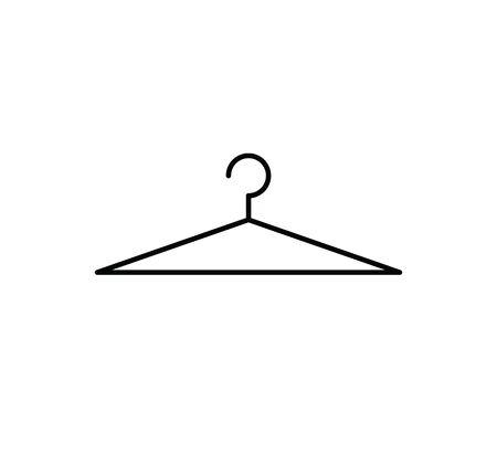 hanger icon vector, hanger sign, logo Stock Illustratie