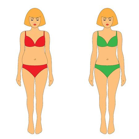 lose weight icon. diet, sport, liposuction, fitness. slim body. fat belly. vegan icon