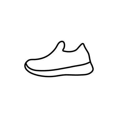 shoes icon. Sneakers icon. Shoe vector.