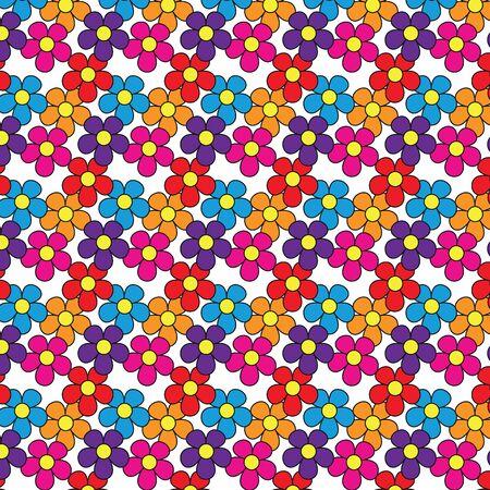 FLOWER Seamless wallpaper pattern. Flower texture, background