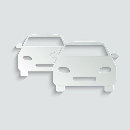 Car icon vector. symbol of car