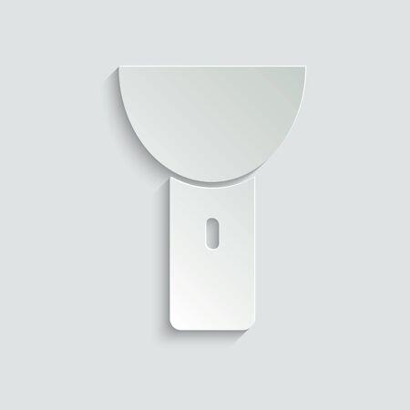 Flashlight Icon. torch icon.