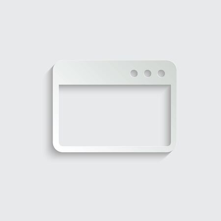 Webpage icon/ internet icon/ browser icon