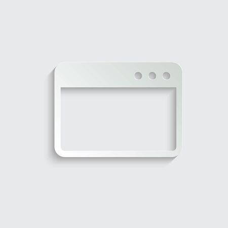 Webpage icon/ internet icon/ browser icon