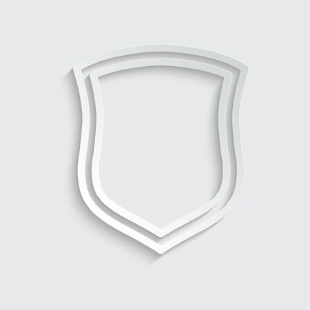 protect icon. secure  icon. Shield  sign vector Imagens - 150281840