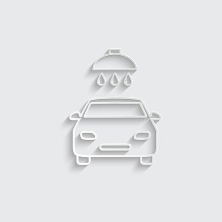 washing car icon. Shower for cars icon vector