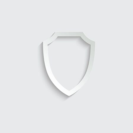 protect icon. secure  icon. Shield  sign vector Ilustração