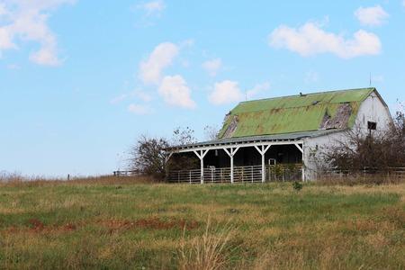 old barn: Old barn - abandoned