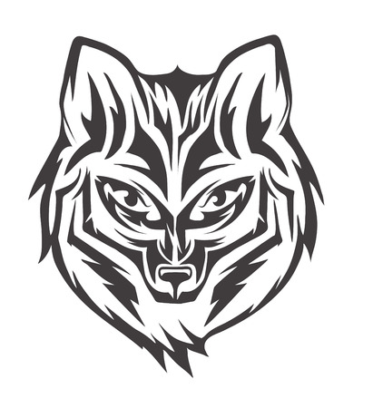 hocico: imagen en blanco y negro de hocico de un zorro
