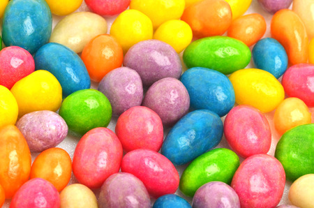 dragee: Multycolored sweet bright dragee background