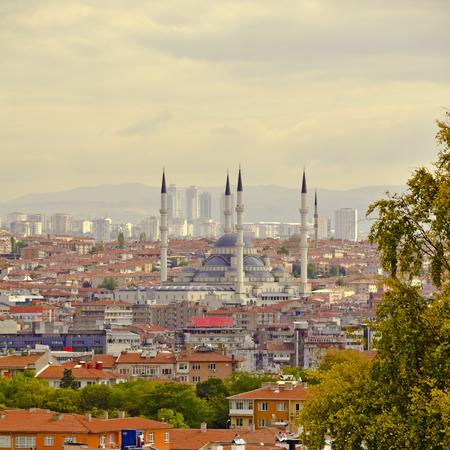 Ankara, Hauptstadt von der Türkei an einem schönen Herbsttag. Standard-Bild - 90585929