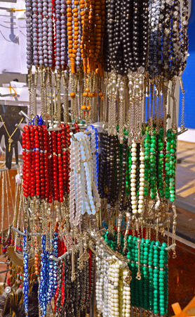 Colored rosary, turkish man accessories.