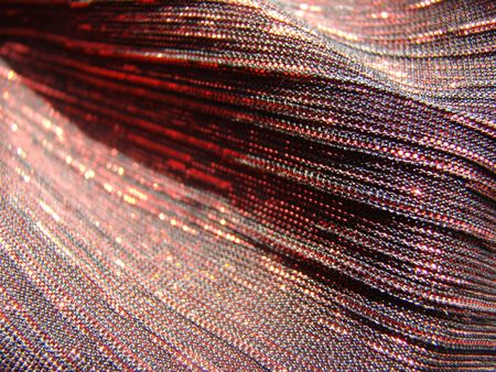 Fabric costume party with gold thread fabric