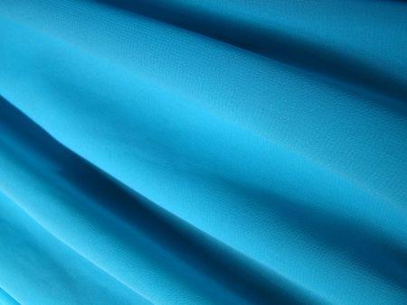 Creep fabric texture diagonal light blue calypso Stock Photo