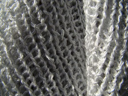 Detail of texture of wool fabric