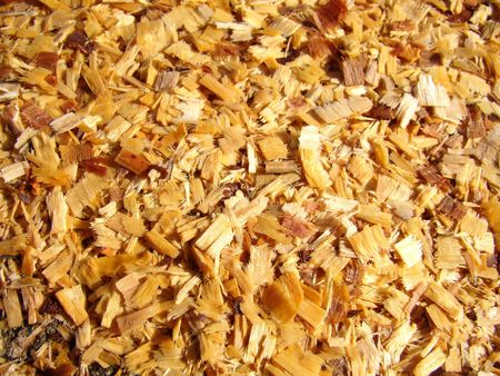 Texture of pieces of small wood