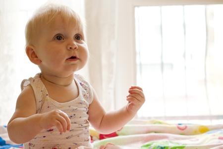 Portret of little  girl Stock Photo - 9362282