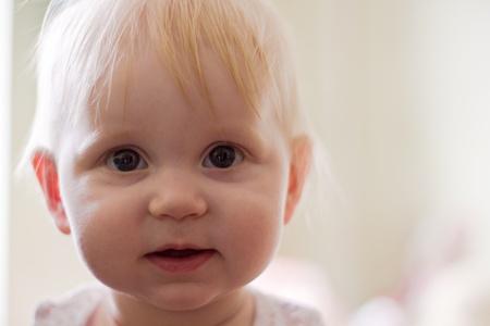 Portret of little smiling girl Stock Photo - 9362249