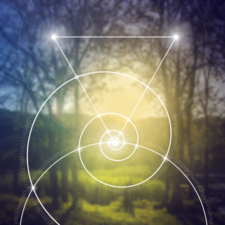 bliss: Sacred geometry. Mathematics, nature, and spirituality in nature. The formula of nature. There is no beginning and no end of the Universe, and no beginning and no end of the Life and the Bliss.