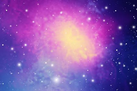 Elegante papel tapiz científico del espacio exterior del universo. Fondo de vector de nebulosa colorida luz cósmica para astronomía o arte relacionado con la astrología.