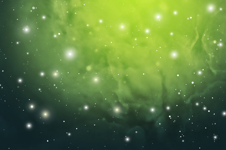 Astrology Mystic Outer Space Background. Vector Digital Illustration of Universe. Foto de archivo - 101846253