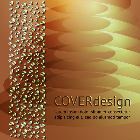 broshure: Cover or broshure squares design. Vector abstract modern template.