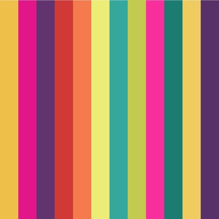 Rainbow strips seamless background for your design: poster, card, wallpaper 矢量图像