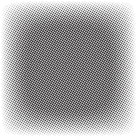 Halftone pattern pattern template design. Vectores