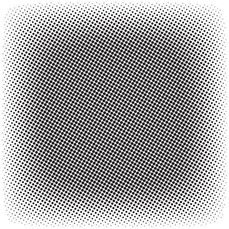 Halftone pattern pattern template design. Illustration