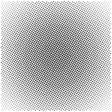 Halftone pattern background, universal vector pattern, halftone dots on white background, screen print texture, monochrome geometric texture with repeated dots of different sizes