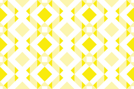Geo seamless pattern, ethnic ornament, seamless fabric print, colorrful geometric bacckground,  yellow seamless  background Illustration