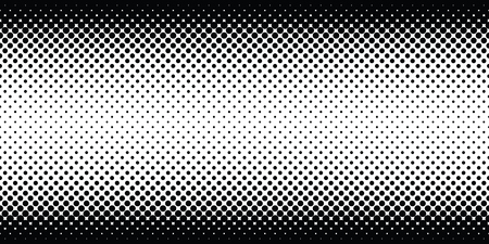 Endless halftone texture, endless halftone dots gradient, abstract background texture, retro style, black and white vector graphic 向量圖像
