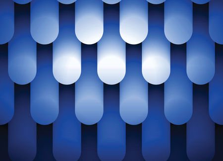 Blue neon light, abstract  fluorescent lightening background, newest technology background