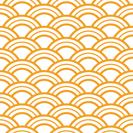 Japanese wave seamless pattern, seamless lines print, geometric background texture