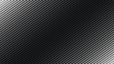 Halftone lines texture, abstract screen print teture, black and white techno background, vector duotone background