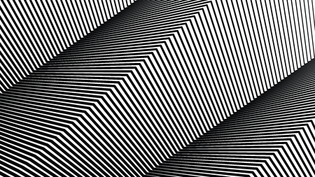 Square line pattern, halftone line background, texture, abstract light pattern, white lines on black background, vector minimal techno background, screen print texture